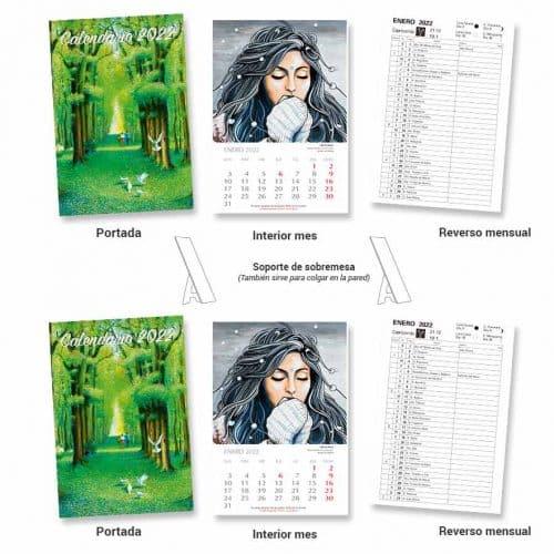 Colección 2 Calendarios 2022