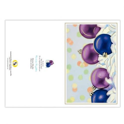 Colección de tarjetas de navidad